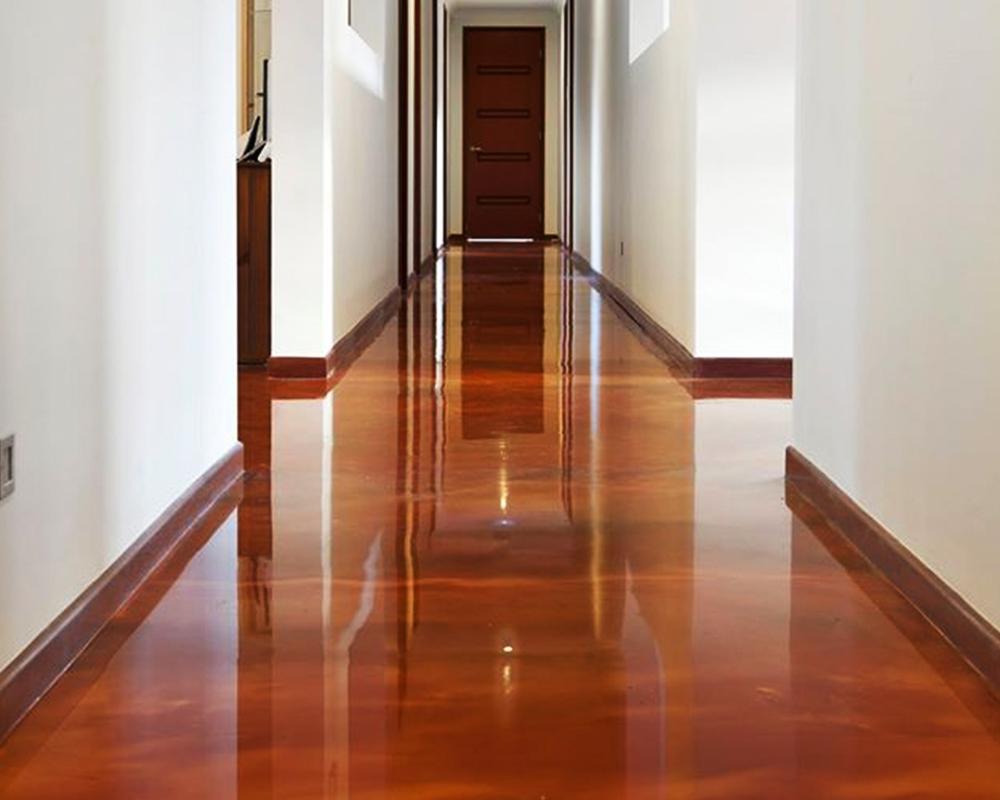Interior Wood Floor Stonecraft Epoxy